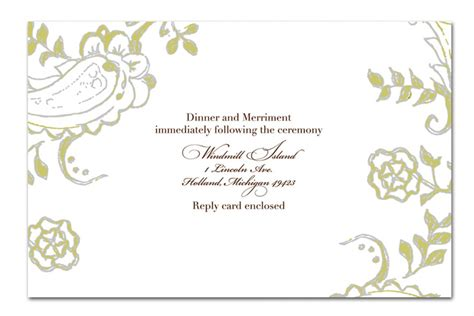 Wedding Card Template With On It by Wedding Invitation Card Template Sunshinebizsolutions
