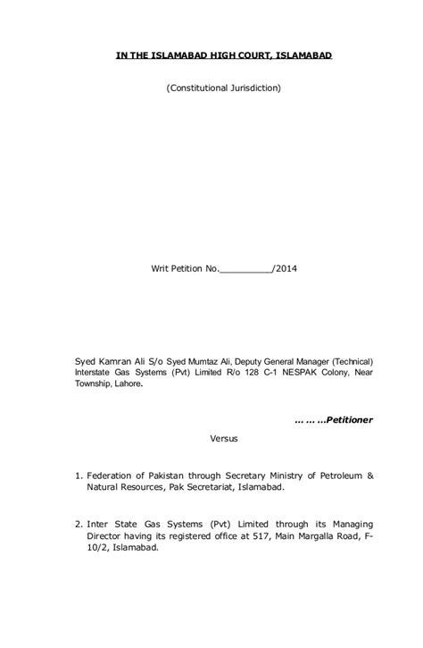 Sle Petition Certiorari Rule 65 petition format petition format withdrawal petition