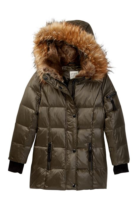 How To Clean Duck Feather Duvet S13 Chelsea Faux Fur Hooded Gloss Down Coat Toddler
