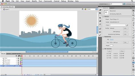 tutorial flash cs6 pdf flash professional cs5 essential training