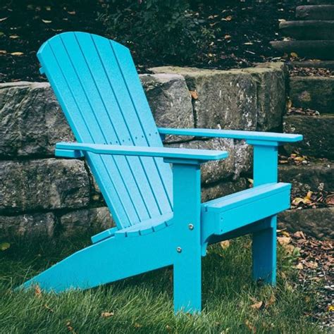 Luxcraft Adirondack Chairs by Luxcraft Poly Lakeside Adirondack Chair