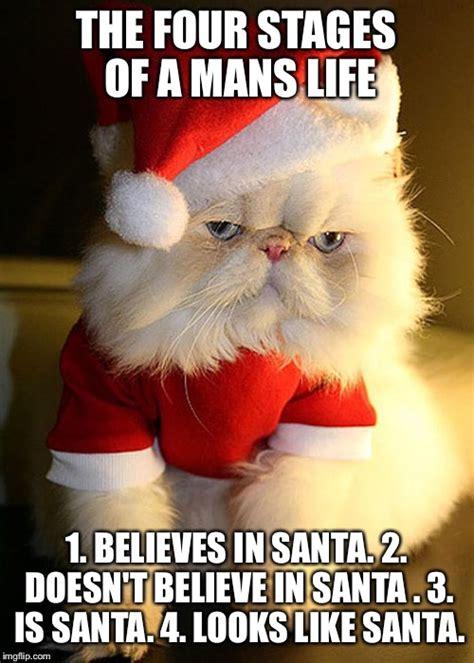 Santa Meme - santa grumpy cat imgflip