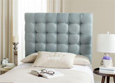 lamar slate blue tufted headboard kid s beds and