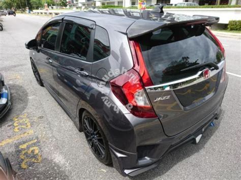 Spoiler Jazz Mugen Gk5 Taiwan honda jazz gk5 mugen rs carbon fiber spoiler car