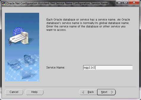 oracle netca tutorial ogg on linux oracle 11g and db2 9 7