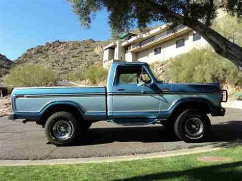 1979 ford f150 4x4 short bed for sale purchase used rare 1979 ford lariat 4x4 short bed 91 000