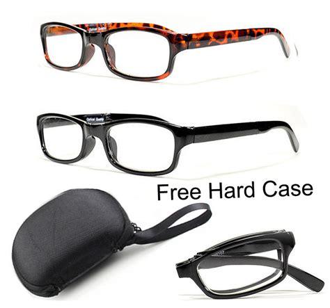 Kacamata Sunglasses Anti Radiasi Free Hardcase folding reading glasses plastic readers compact pocket size included ebay