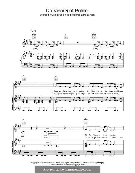 budapest by j pott g e barnett sheet music on musicaneo da vinci riot police by j pott g e barnett sheet