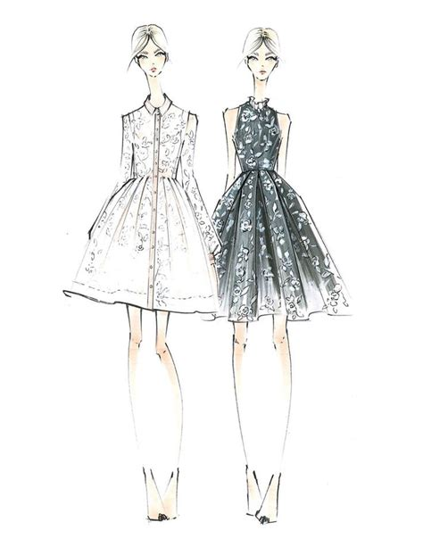 Sketches Clothes by 25 Best Ideas About Fashion Sketches On