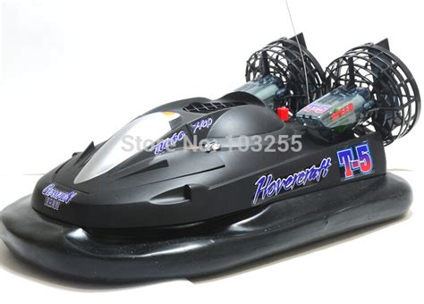 Hovercraft Boat Remote Black Hitam remote hovercraft toys motor in rc boats