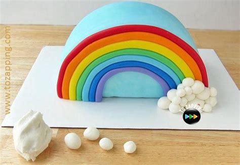 piata con papel de oficina c 243 mo hacer una tarta pi 241 ata con forma de arco iris