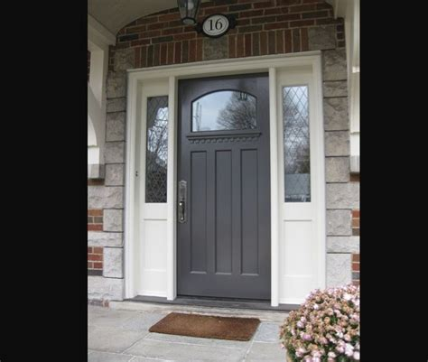Exterior Fiberglass Doors With Sidelights 25 Best Ideas About Entry Door With Sidelights On Pinterest Front Doors Entry Doors With