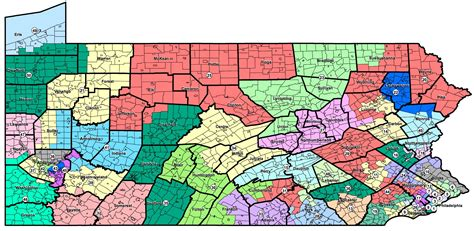 state senate district map 29 simple pennsylvania election districts map afputra
