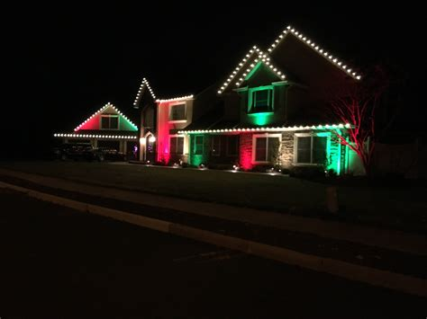 decorating with outdoor flood lights for christmas decorating lighting in wall township brick point pleasant nj