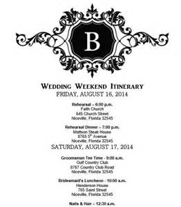 Bridal Itinerary Template by Pin By George On The Wedding I Of