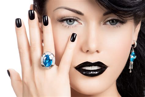 make up for women 46 hand makeup hair hairstyle girl eyes ring lips model