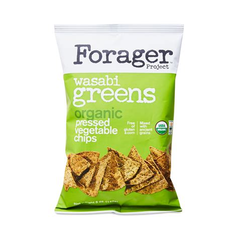 Organic Vegetable Chips wasabi organic vegetable chips by forager thrive market