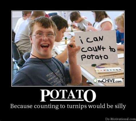 I Can Count To Potato Meme - image 128748 i can count to potato know your meme