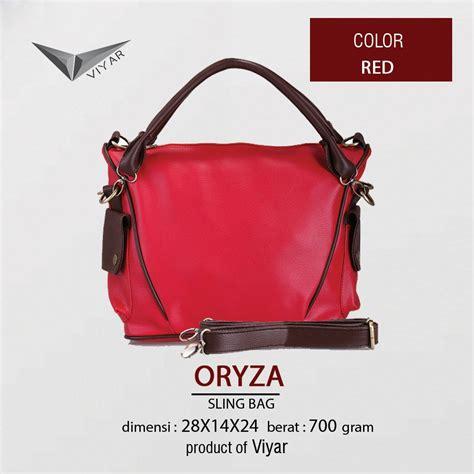 Tas Mox 3 In 1 Tote Bag Selempang Dompet Wanita Murah Merah free shipping viyar oryza sling bag tas tangan wanita