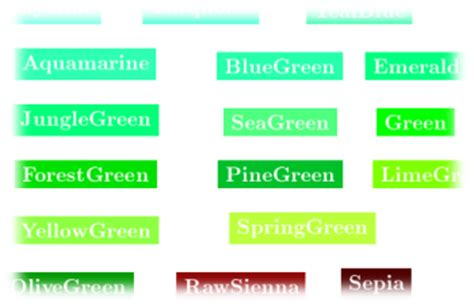 green colors names 28 green colors names gallery for gt pantone green