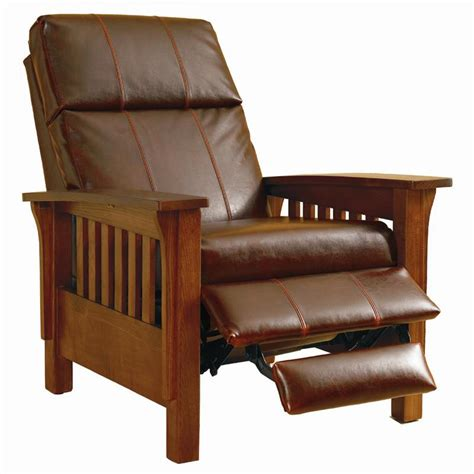 lane mission style recliner lane hi leg recliners 2769 mission montana hileg recliner