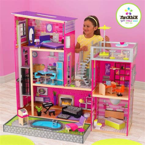 uptown doll house 1000 images about kidkraft and wooden dollhouses and furniture on pinterest barbie