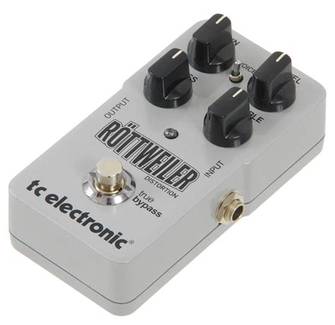 Tc Electronic Rottweiler Distortion Pedal tc electronic tc rottweiler distortion efekt do gitary