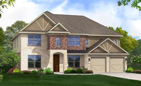 gehan homes brown floor plan