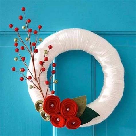diy wreath easy decorations diy ideas and tutorials