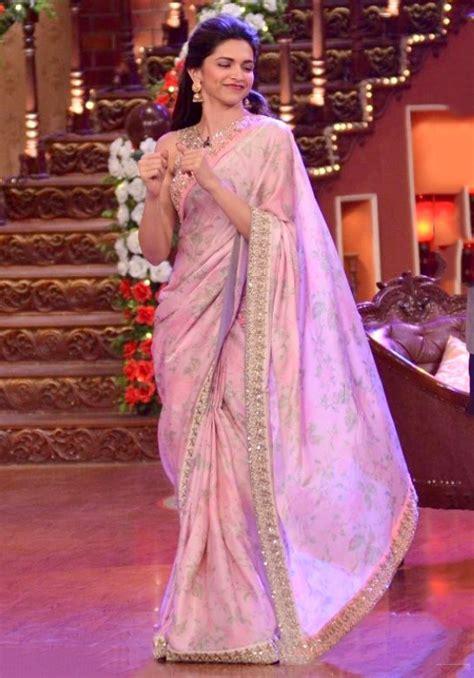 deepika padukone saree deepika padukone stunning in saree chamber of beauty