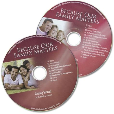 family matters 6 family building principles books because our family matters mp3 2 audio files