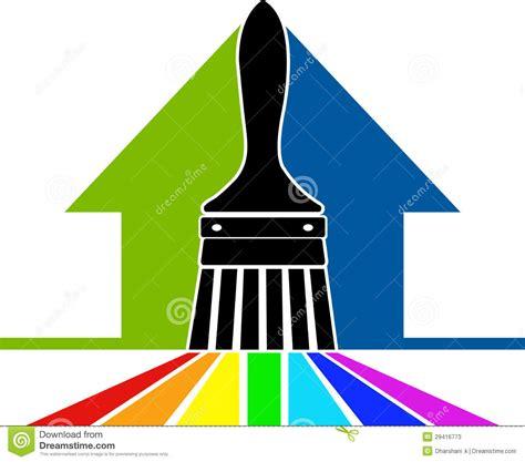 clipart logo paint brush logo stock vector illustration of clip blue