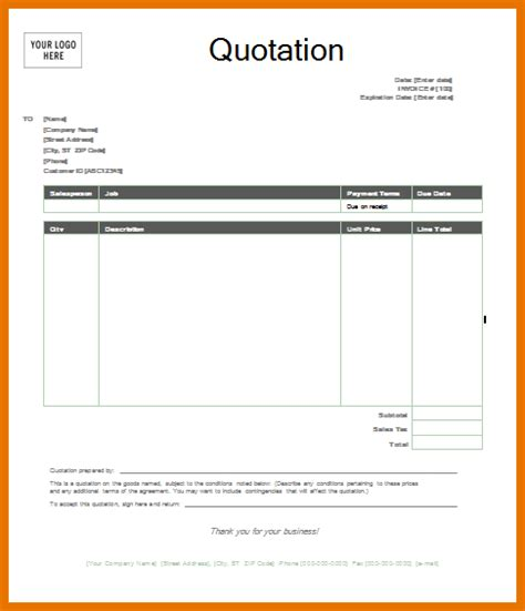 quotes template word gse bookbinder co