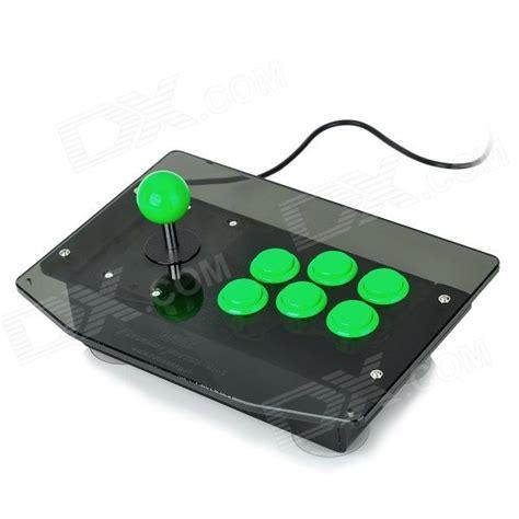Stick Ps2 Cabel Standar Mumer diy arcade joystick controller for pc ps2 green black