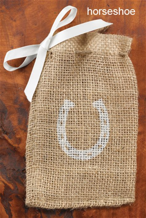 burlap favor bags set of 25 favor bags favor