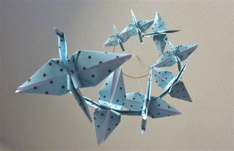 Origami Cranes For Sale - origami crane mobile baby mobile children decor eco friendly
