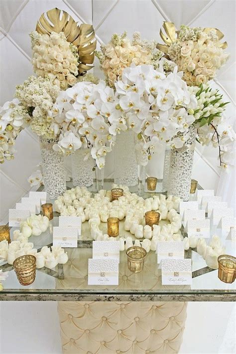 Country Star Home Decor by Gold And White Wedding Floral