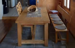 table cuisine bois massif 206 le bois marine