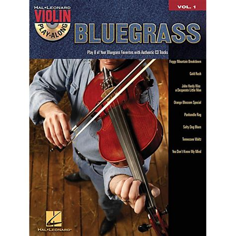 cherish play volume 1 books hal leonard bluegrass violin play along volume 1 book cd