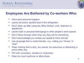 Office Kitchen Etiquette Workplace Etiquette Slides