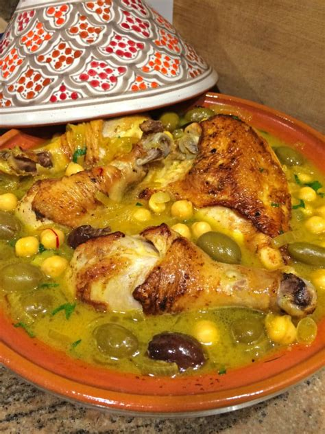 best chicken tagine recipe chicken tagine with chickpeas olives and preserved lemon