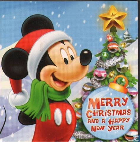 merry christmas mickey mouse clipart clipart suggest
