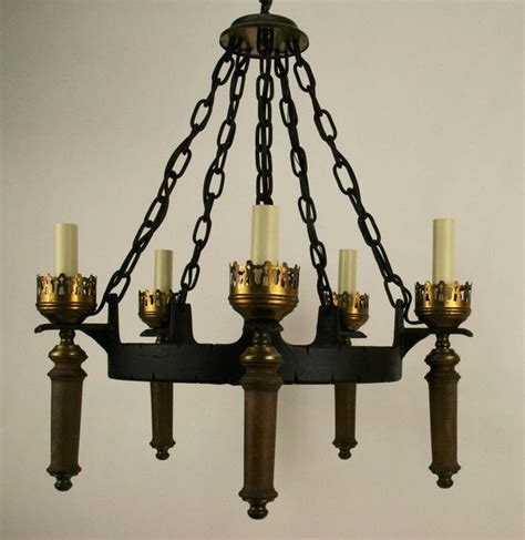 Black Iron Lighting Fixtures Black Iron Ring Light Fixture For Sale At 1stdibs
