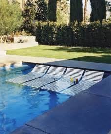 Lounge Chair Pool Design Ideas Would These Lounge Chairs In The Pool Splish Splash