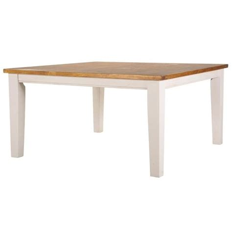 Buy Square Dining Table Leura Rustic Timber Square Dining Table White M Buy Tables And Kitchen Glass Dining Table