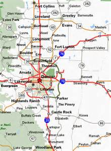 map of front range colorado service area kikin inspection