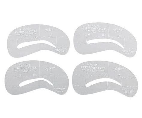 get printable eyebrow stencils best 25 eyebrow stencil ideas on pinterest