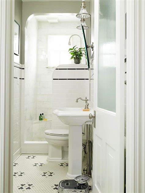 Small White Bathroom Decorating Ideas - white compact bathroom design http hative small
