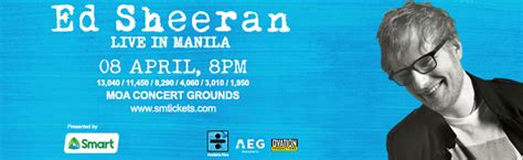 ed sheeran live in manila clickthecity events ovation productions