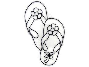 flip flop coloring pages toddler painting az coloring pages